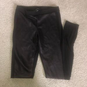 Express Leather Leggings size small